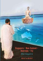 Singapore New Zealand Australia Fiji Dharmayatra