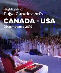 Canada - USA Dharmayatra 2019